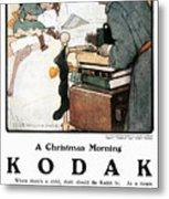 Kodak Advertisement, 1904 Metal Print
