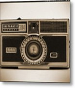 Kodak Instamatic Camera Metal Print by Mike McGlothlen