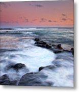 Koloa Sunset Metal Print by Mike  Dawson