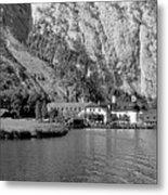 Konigssee Lake And Saint Bartoloma 2 Metal Print