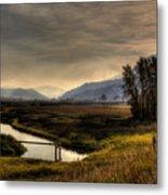 Kootenai Wildlife Refuge In Hdr Metal Print