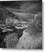 Kootenai Wildlife Refuge In Infrared 4 Metal Print