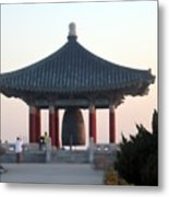 Korean Friendship Bell 0559 Metal Print