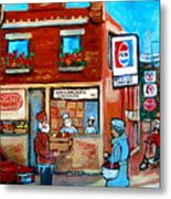 Kosher Bakery On Hutchison Street Metal Print