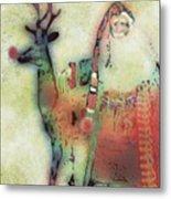 Kris And Rudolph Metal Print