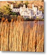 Kylemore Abbey, County Galway Metal Print