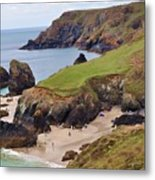 Kynance Cove Metal Print