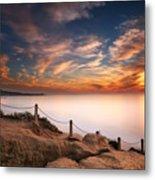 La Jolla Sunset Metal Print by Larry Marshall
