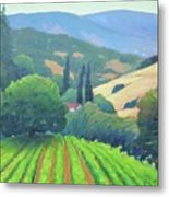 La Rusticana Afternoon. Metal Print