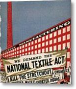 Labor Poster, 1935 Metal Print