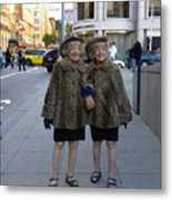 Ladies From San Francisco Metal Print