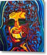 Lady In Sunglasses Metal Print