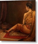 Lady Of The Palace Metal Print
