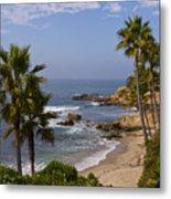 Laguna Beach Coastline Metal Print