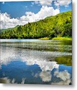 Lake Agua Blanca Metal Print