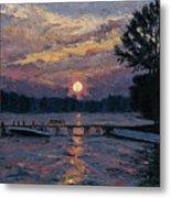 Lake Martin Sunset Metal Print