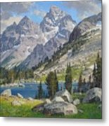 Lake Solitude Metal Print