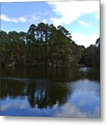 Lake Thomas Hilton Head Metal Print