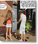 Lame Excuses Metal Print