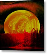 Land Of The Living Skies Metal Print