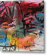 Landscape Sketch27 Metal Print
