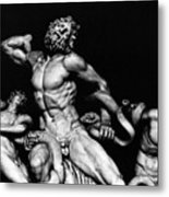 Laocoon And His Sons Aka Gruppo Del Laocoonte Metal Print