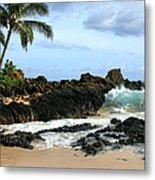 Lapiz Lazuli Stone Aloha Paako Aviaka Metal Print