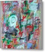 Large Abstract No 2 Metal Print