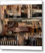Lathe Metal Print