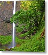 Latourell Falls Oregon Metal Print