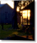Laurel Valley Slave Cabin Metal Print