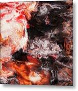 Lava Flow Metal Print