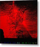 Lava Fountain Metal Print