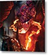 Lava Genie Metal Print by Paul Davidson