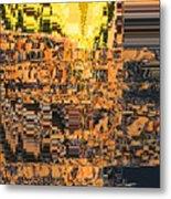Layers Of Civilizations Metal Print