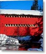 Le Boise Du Pont-rouge ... Metal Print