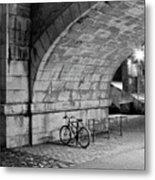 Le Vélo Metal Print