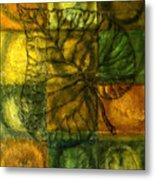Leaf Whisper Metal Print