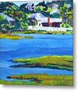 Leaving The Island Metal Print