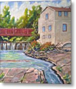 Legare Mill Metal Print