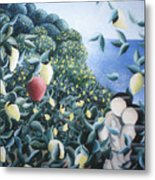 Lemon Trees Metal Print