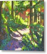 Lena Lake Trail II Metal Print