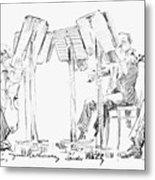 Lener String Quartet Metal Print by Granger