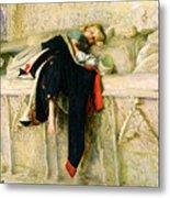 L'enfant Du Regiment Metal Print by Sir John Everett Millais