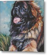 Leonberger Art Print Metal Print