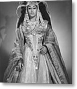 Leontyne Price B. 1927, As Cleopatra Metal Print