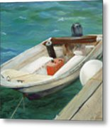 Lets Go Fishing Metal Print