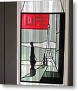 Life Cover By Ed Clark Metal Print