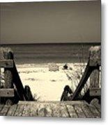 Life Is A Beach Metal Print by Susanne Van Hulst