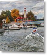 Light House Mississauga Metal Print